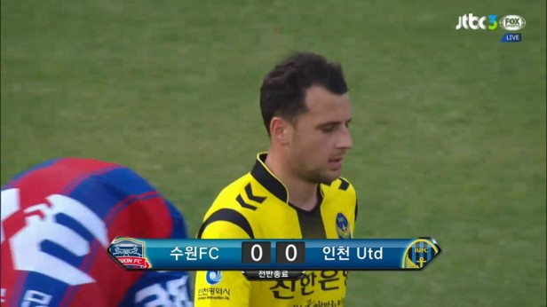 K League April 23 2016 Suwon City v Incheon 3