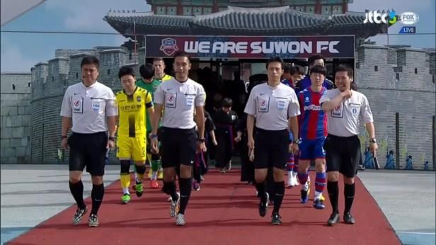 K League April 23 2016 Suwon City v Incheon
