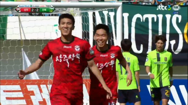 K League April 24 2016 Sangju Sangmu Goal 2