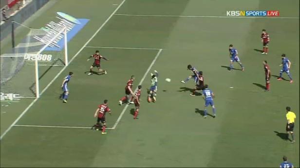 K League April 24 2016 Ulsan Hyundai goal