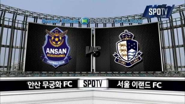 K League April 30th Ansan v Seoul E-Land