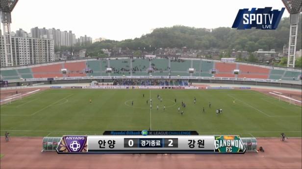 K League April 30th Anyang v Gangwon