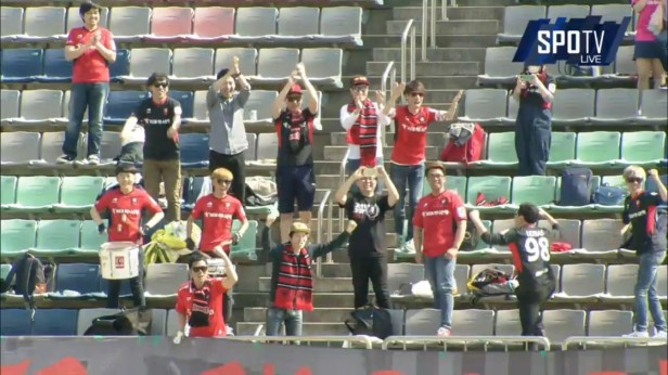 K League April 30th Bucheon 1995 fans