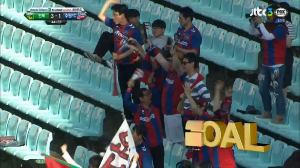 K League April 30th Suwon City Goal