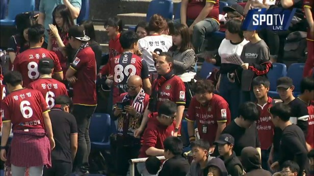 K League April 9th Daejeon Citizen Fans