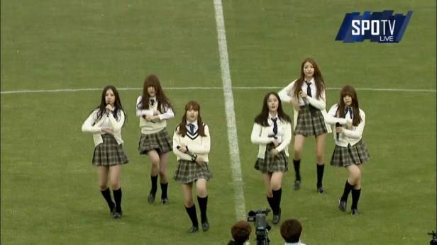 K League April 9th GFriend KPOP Bucheon