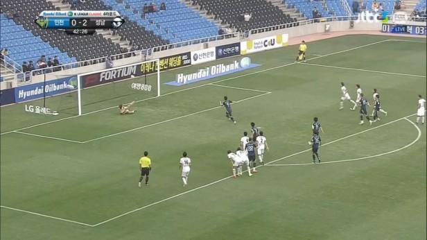 K League April 9th Incheon Goal