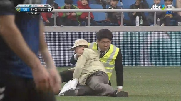 K League April 9th Incheon v Seongnam old man