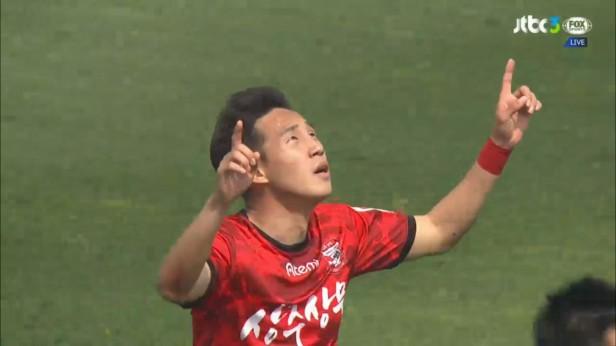 K League April 9th Sangju Goal