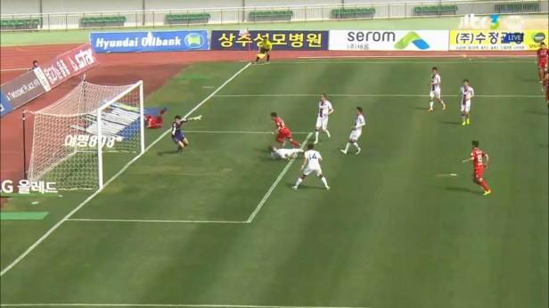 K League April 9th Sangju vs. Suwon