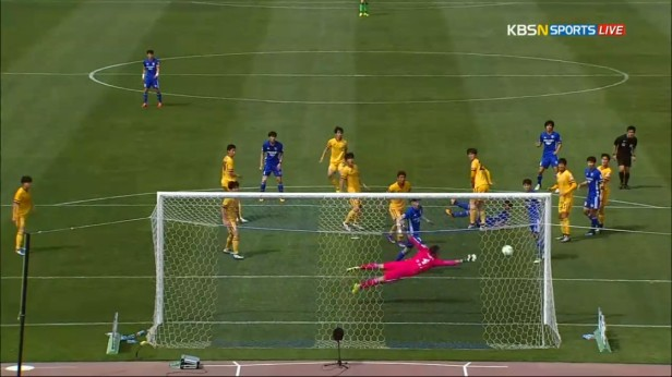 K League April 9th Ulsan Goal