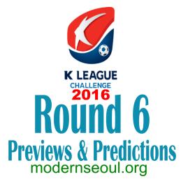 K League Challenge 2016 Round 6 banner