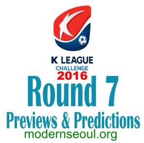 K League Challenge 2016 Round 7 banner