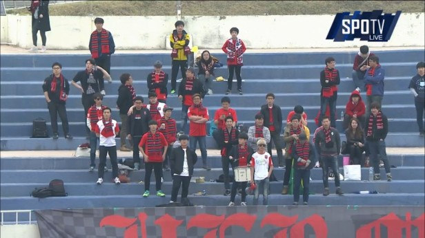 K League Challenge April 3rd Bucheon 1995 fans