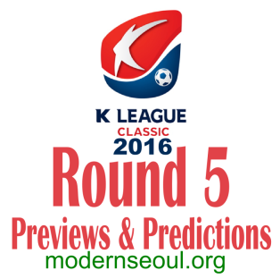 K League Classic 2016 Round 5 banner