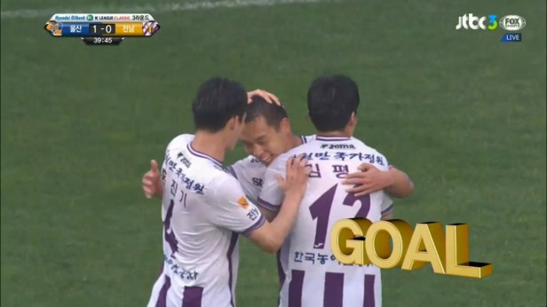 K League Classic April 3rd Jeonnam Dragons