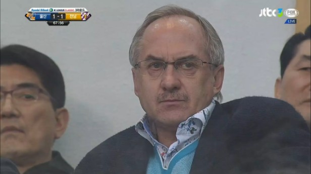 K League Classic April 3rd Uli Stielike at Ulsan