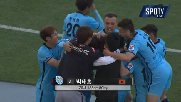 K League May 1st daegu goal