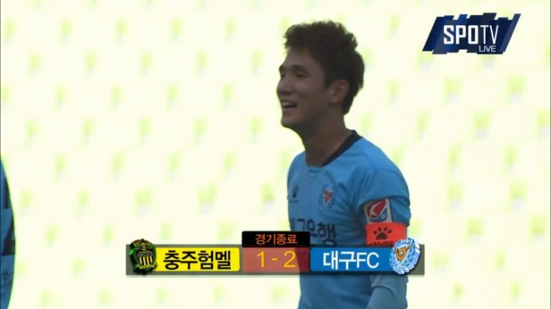 K League May 1st Daegu v Chungju result