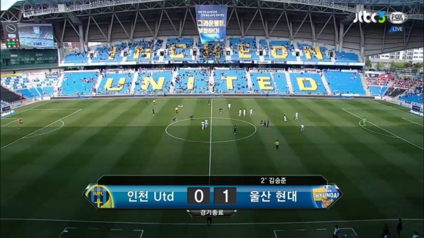 K League May 1st incheon united v ulsan result