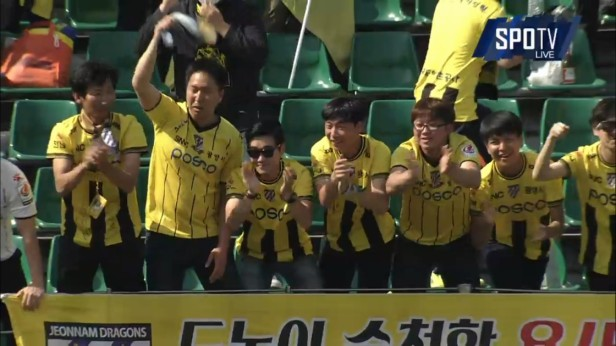 K League May 1st jeonnam fans