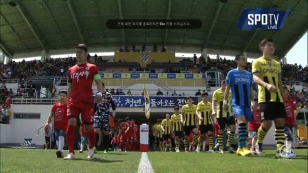 K League May 1st Jeonnam v Sangju