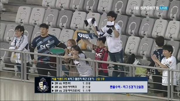 Korean FA Cup 2016 Seoul E-Land Fans