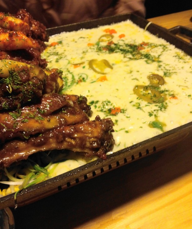 Korean Style Spicy Ribs and Cheese Cheongna