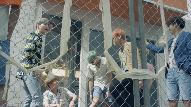 BTS Fire KPOP