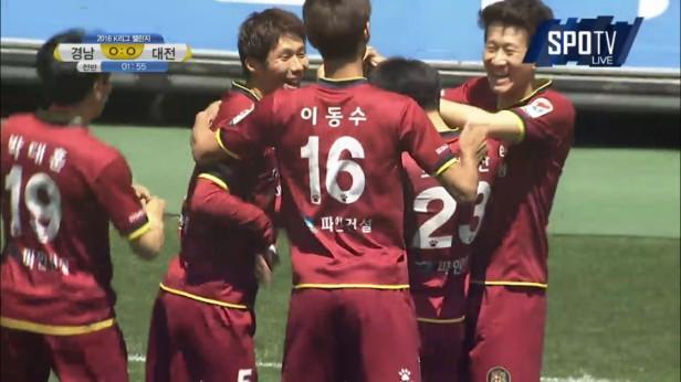 Daejeon vs. Gyeongnam K League May