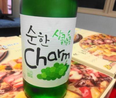 Grape Soju bottle