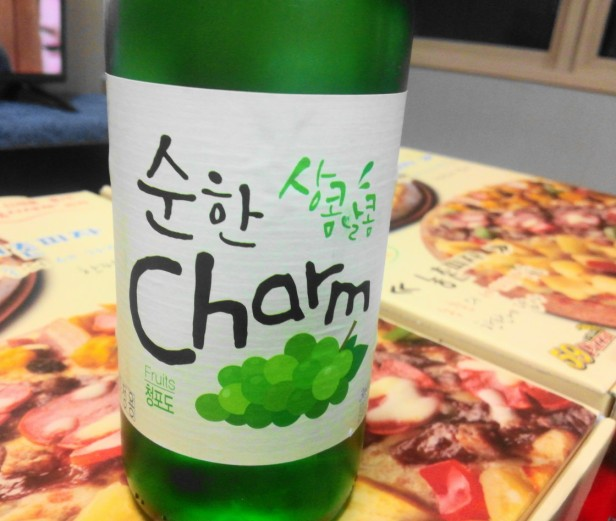 Grape Soju bottle