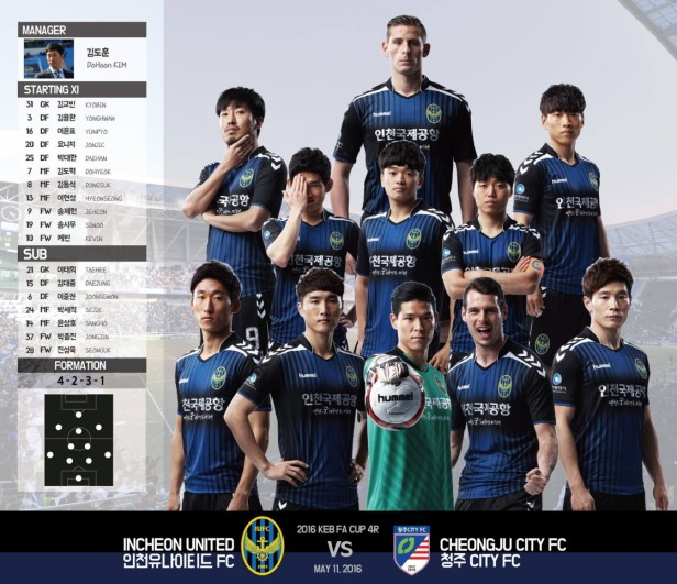From The Incheon United Facebook Page