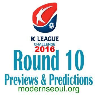 K League Challenge 2016 Round 10 banner