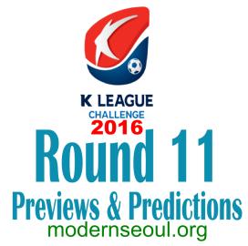K League Challenge 2016 Round 11 banner