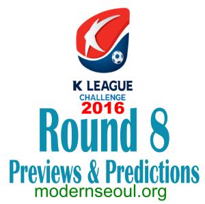K League Challenge 2016 Round 8 banner