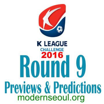 K League Challenge 2016 Round 9 banner