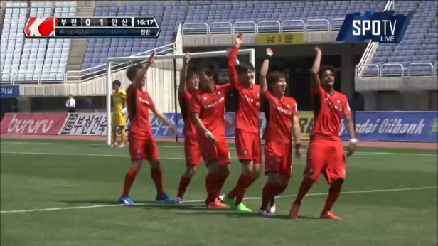 K League Children's Day 2016 bucheon 1995 goal