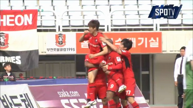 K League Children's Day 2016 bucheon goal