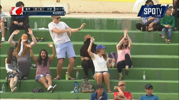 K League Children's Day 2016 expat foreign fans Chungju Goyang
