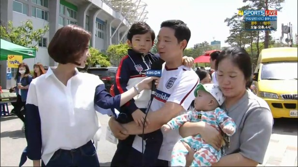 K League Children's Day 2016 reporter 2