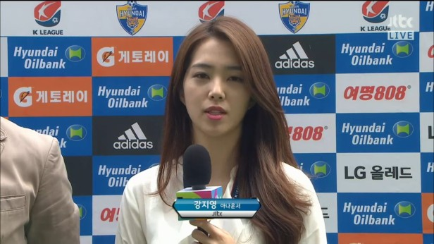 K League Children's Day 2016 reporter