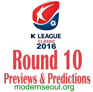 K League Classic 2016 Banner Round 10
