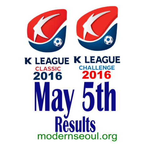K League Classic 2016 Challenge Results banner