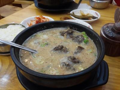 Korean Sundae Guk - Soup (1)