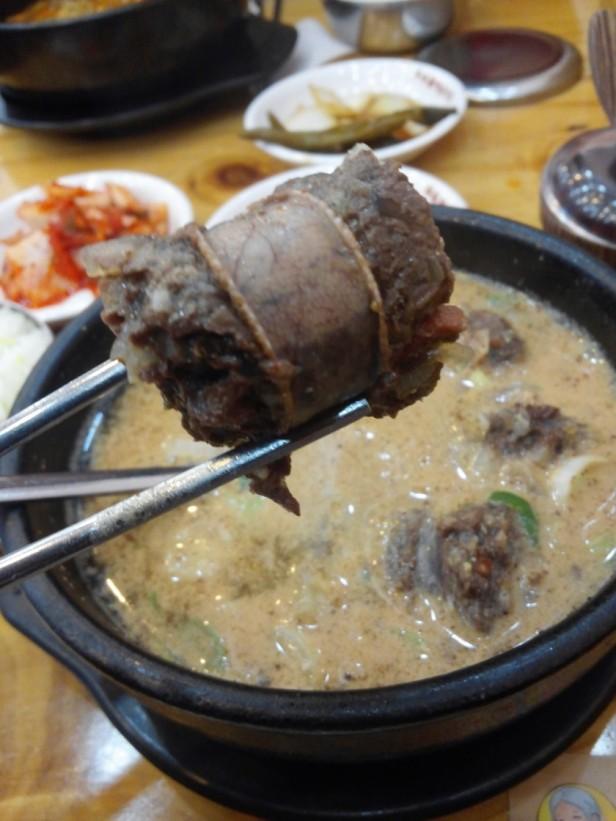 Korean Sundae Guk - Soup (2)