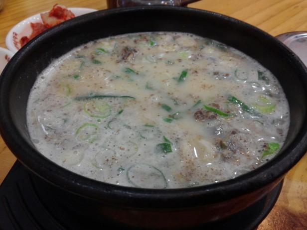 Korean Sundae Guk - Soup (3)