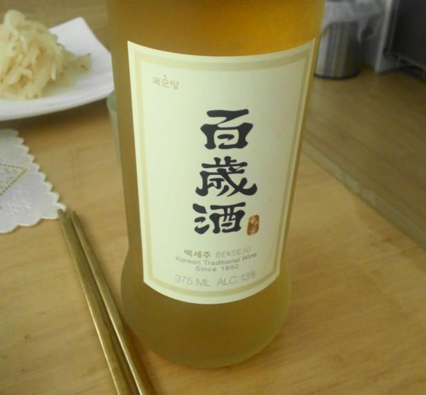 Bekseju Soju Wine