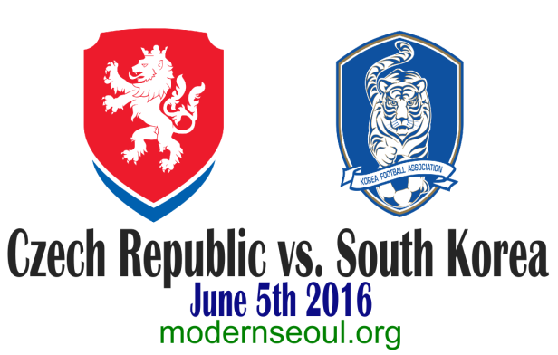 Czech Republic v South Korea 2016 Banner