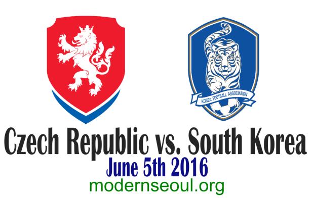 Czech Republic v South Korea 2016 Banner